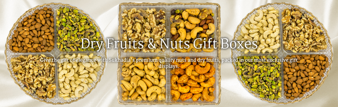 Dry Fruits & Nuts Gift Boxes