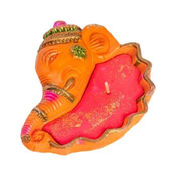 Ganesha Wax Diya