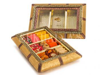 Metallic Royal Sandook Sweets