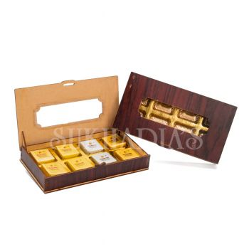 Wooden Pencil Box with Bites
