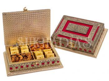 Royal Red Treasure Box