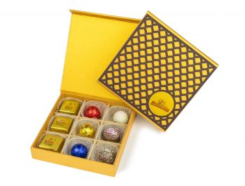 Wooden Checker, Assorted 9pc