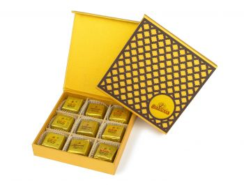 Wooden Checker, Bites 9pc