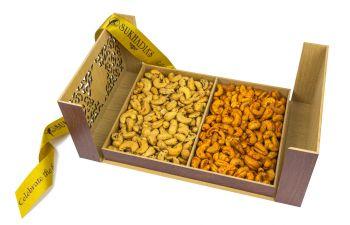 Wooden Treasure Chest, Combo Cashews