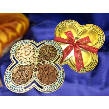 Nakashi Flower Tray Dry Fruits