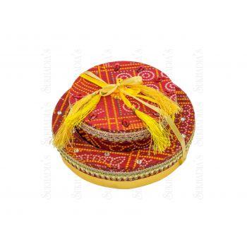 Bandhani Round Combo Large