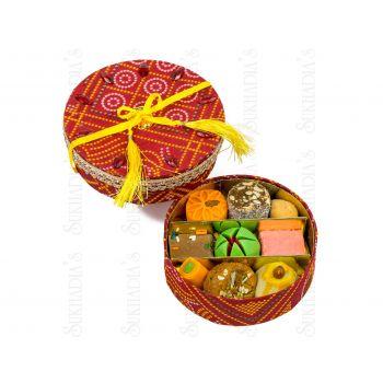 Bandhani Round Sweets
