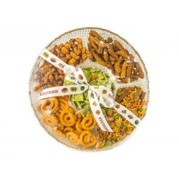 Golden Round Variety Snacks