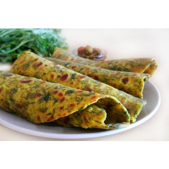 Methi Paratha Tray