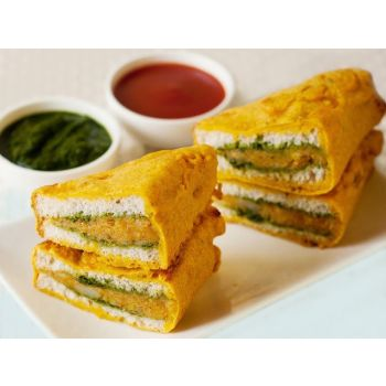 Sandwich Pakoras Tray