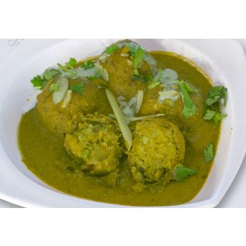 Spinach Kofta Curry Tray