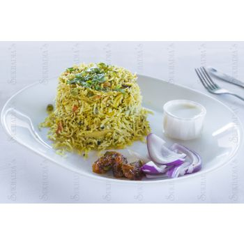 Hyderabadi Veg. Biryani Tray