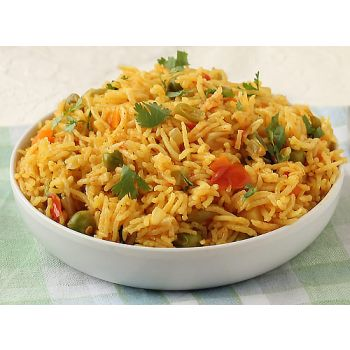 Vegetable Biryani Tray