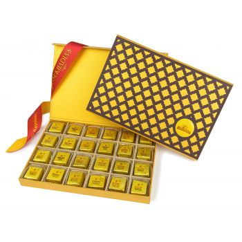 Wooden Checker, Bites 24pc