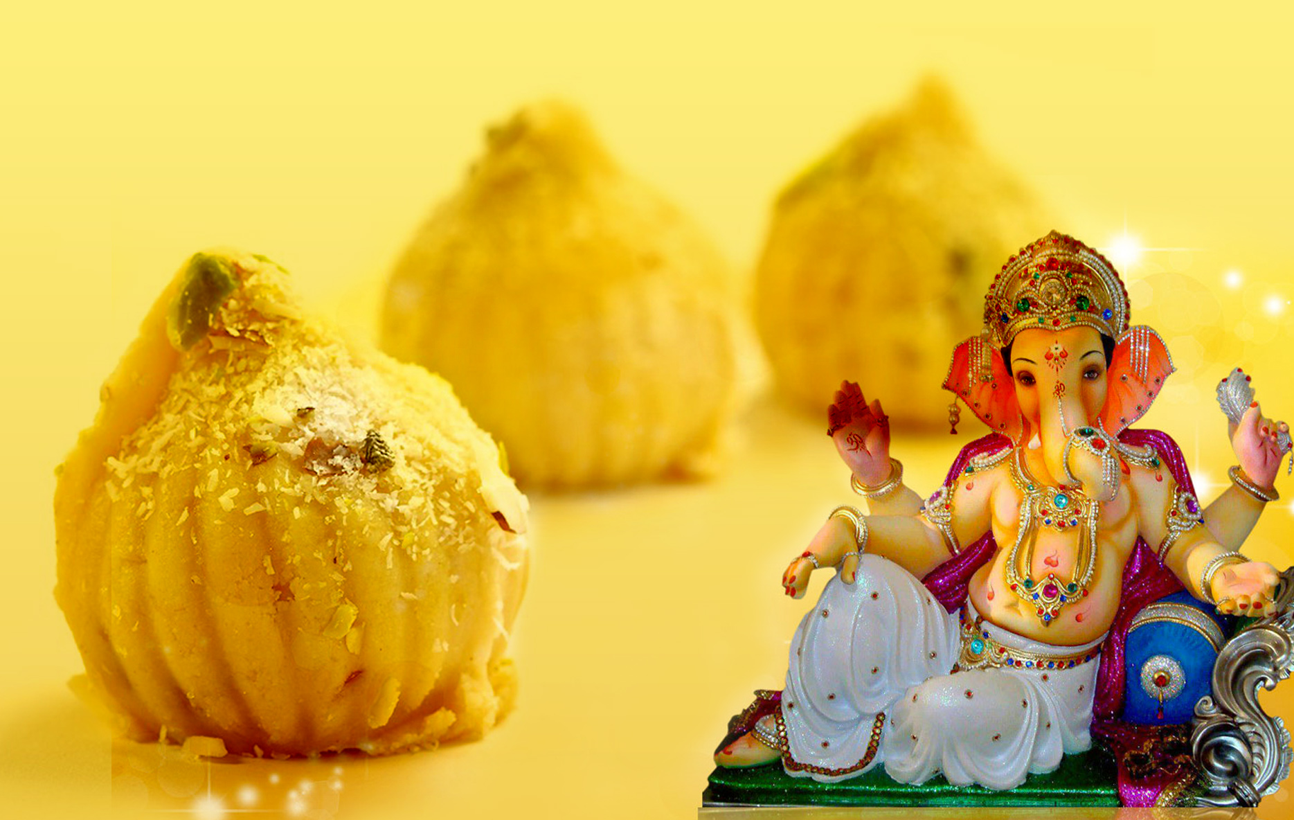 Sweets for Lord Ganesh